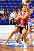 Tactix player Kimiora Poi during their ANZ Premiership Netball match. The Good Oil Tactix v Northern Mystics. Trafalgar Centre, Nelson, New Zealand. Sunday 24 March 2019. ©Copyright Photo: Chris Symes / www.photosport.nz