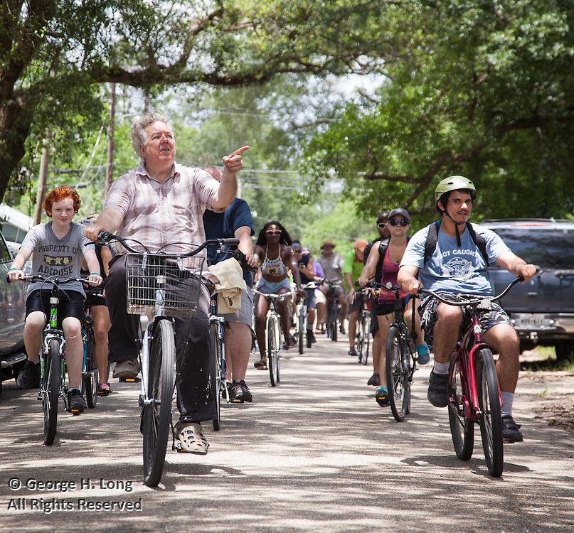 14th annual Louisiana Bicycle Festival in Abita Springs, Louisiana