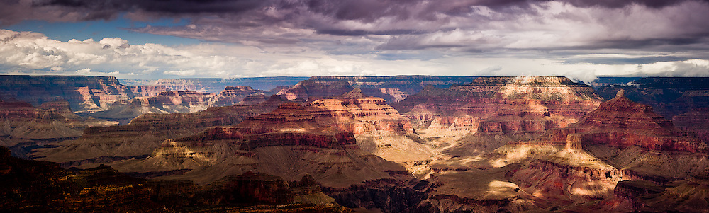 The Grand Canyon from the South Rim, at Yavapai Point