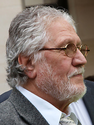 David Lee Travis in Court. <br /> Former BBC Radio 1 DJ David Lee Travis leaves court for alleged indecent assault charges, Westminster Magistrates' Court, London, United Kingdom. Thursday, 3rd October 2013. Picture by Max Nash / i-Images