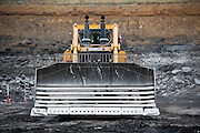 Caterpillar Bulldozer at a coal mine