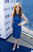attends the USA Network 2013 Upfront event at Pier 36- Basketball City  in New York City, New York on May 16, 2013.
