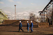 Arcelor Mittal. <br /> <br /> Matt Lutton / Boreal Collective for the Financial Times.