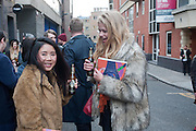 THANH LANDEN; VALERIE VAN DER GRAAF, I Love Fake: Issue 2 - launch party  to celebrate the second issue of biannual art, culture and style publication.  Protein, 18 Hewett Street, London, 4 April 2012