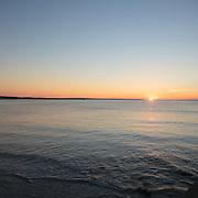 Today's Summer Sunrise  at Narragansett Town Beach, Narragansett, RI, September 7, 2013. #401 #surf #waves #beach #sunrise