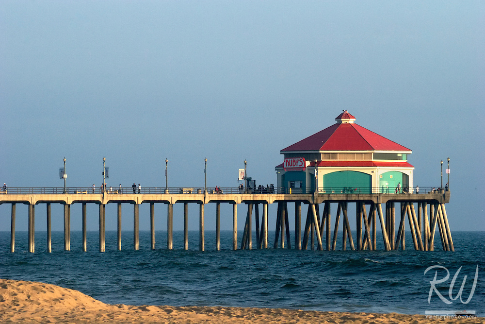 Pier at Huntington State Beach, California