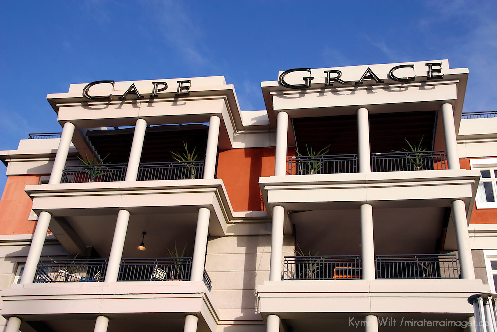 Africa, South Africa, Cape Town. The Cape Grace Hotel on the Victoria & Alfred Waterfront.