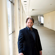 June 3, 2014 - New York, NY : Composer Jesse Jones poses for a portrait at Lincoln Center's Avery Fisher hall on Tuesday afternoon. Three works by little-known composers, such as Jones, will be selected for inclusion in the New York Philharmonic's Biennial. CREDIT: Karsten Moran for The New York Times