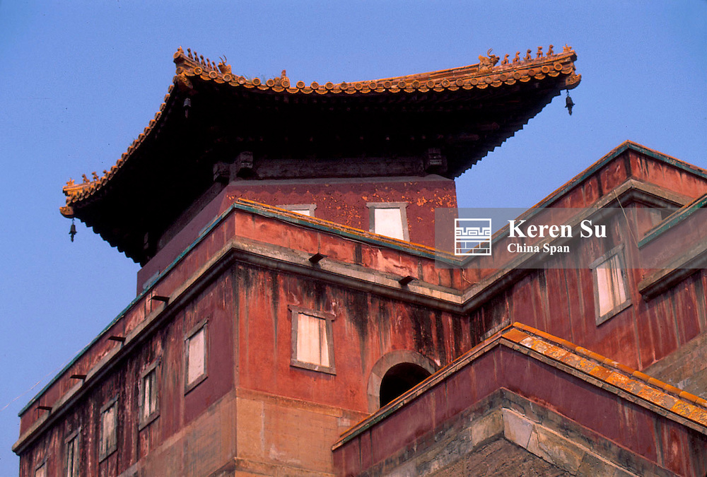 Buildings of Putuo Zongsheng Temple, Imperial Summer Palace and its Outlying Temples, Chengde, Hebei Province, China