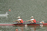 2005 FISA World Cup, Rotsee, Lucerne, SWITZERLAND, CHN W2X. 09.07.2005 .© Peter Spurrier.  email images@intersport-images..[Mandatory Credit Peter Spurrier/ Intersport Images] Rowing Course, Lake Rottsee, Lucerne, SWITZERLAND.