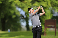 Keelan McCarthy (Lee Valley) during the final round of the Connacht Boys Amateur Championship, Oughterard Golf Club, Oughterard, Co. Galway, Ireland. 05/07/2019<br /> Picture: Golffile | Fran Caffrey<br /> <br /> <br /> All photo usage must carry mandatory copyright credit (© Golffile | Fran Caffrey)