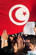 Manifestation de soutien à la Tunisie à Paris (15/01/2011)