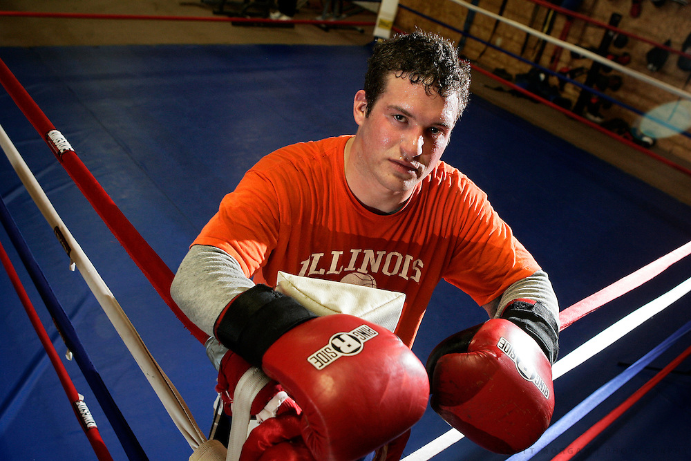 Toughman heavyweight competitor David Banks.SCOTT MORGAN | ROCKFORD REGISTER STAR