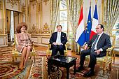 Staatsbezoek aan Frankrijk dag 1