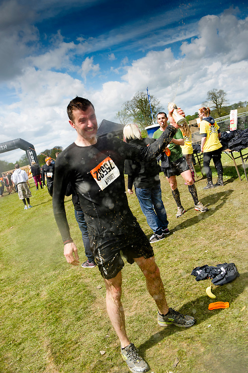 Tough Mudder - May 2012 - Northamptonshire - Warren Pole - Finish Line