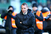 Celtic manager Brendan Rodgers during the Ladbrokes Scottish Premiership match between Hibernian and Celtic at Easter Road, Edinburgh, Scotland on 10 December 2017. Photo by Craig Doyle.