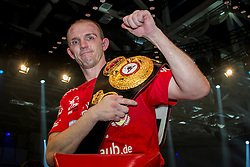 12.03.2016, Jahnsportforum, Neubrandenburg, GER, Boxgala, WBA Weltmeisterschaftskampf, im Bild v.l. Juergen Braehmer (Germany) WBA Light Heavyweight World Championship // during the WBA Light Heavyweight World Championship Boxgala at the Jahnsportforum in Neubrandenburg, Germany on 2016/03/12. EXPA Pictures © 2016, PhotoCredit: EXPA/ Eibner-Pressefoto/ Koch<br /> <br /> *****ATTENTION - OUT of GER*****