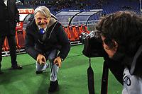 Massimo Ferrero Sampdoria President<br /> Roma 07-02-2016 Stadio Olimpico, Football Calcio 2015/2016 Serie A. AS Roma - Sampdoria . Foto Andrea Staccioli / Insidefoto