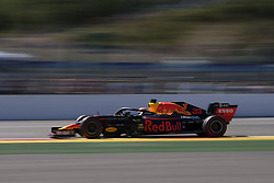 August 31, 2019, Spa Francorchamps, Belgium: Red Bull Racing Driver MAX VERSTAPPEN (NDL) in action during the third free practice session of the Formula one Johnnie Walker Belgian Grand Prix at the SPA Francorchamps circuit - Belgium (Credit Image: © Pierre Stevenin/ZUMA Wire)