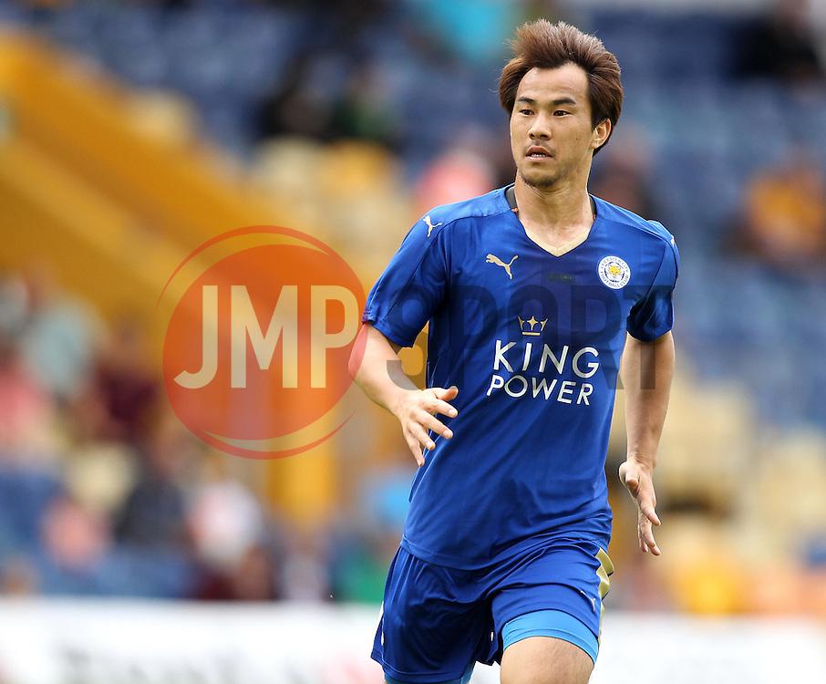 Leicester City's Shinji Okazaki - Mandatory by-line: Robbie Stephenson/JMP - 25/07/2015 - SPORT - FOOTBALL - Mansfield,England - Field Mill - Mansfield Town v Leicester City - Pre-Season Friendly