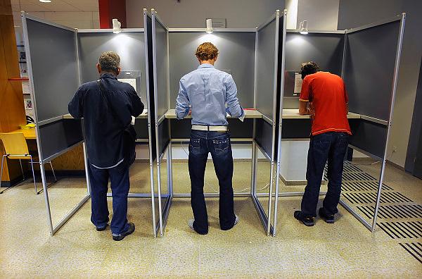 Nederland, Nijmegen, 9-6-2010Verkiezingen voor de tweede kamer.Netherlands, general elections.Foto: Flip Franssen/Hollandse Hoogte