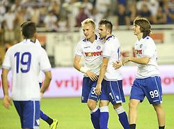 30.07.2015, Stadion Poljud, Split, CRO, UEFA EL, Hajduk Split vs Stroemsgodset IF, Qualifikation, 3. Runde, Hinspiel, im Bild Andrija Balic Jubel // during the UEFA Europa League Qualifier 3rd round, 1st Leg Match between Hajduk Split and Stroemsgodset IF at the Stadion Poljud in Split, Croatia on 2015/07/30. EXPA Pictures © 2015, PhotoCredit: EXPA/ Pixsell/ Ivo Cagalj<br /> <br /> *****ATTENTION - for AUT, SLO, SUI, SWE, ITA, FRA only*****