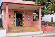 Drug store in Santa Lucia, Pinar del Rio, Cuba.