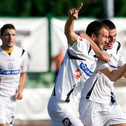 20091003: Footbal-Soccer - Slovenian 1st League - NK Interblock vs Luka Koper