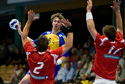 20080525 Friendlymatch in handball between Sweden and Denmark in Partille, Sweden.