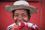 Portrait of mother waiting at patient shelter on patient announcement day. Operations Smile's 2015 mission to Tamatave. Madagascar.  Photographer – Zute Lightfoot)