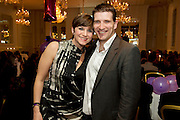 Jacqui McGowan and Ronan Walsh from Navan at the launch of the  hopefully Xmas number 1 single Tiny Dancer by a host of Irish singers ( Mary Black, Paddy Casey, John Spillane to mention just a few) and AIMS members at Hotel Meyrick in aid of the Lily Mae Trust. Picture:Andrew Downes..Photo issued with compliments, no reproduction fee.