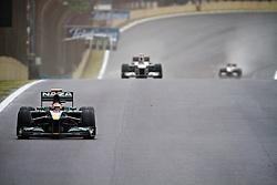 Vários pilotos são vistos reta durante a o Grande Prémio do Brasil de Fórmula 1, em Interlagos, São Paulo. FOTO: Jefferson Bernardes/Preview.com
