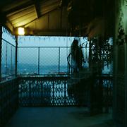 Europa, Portugal, Lissabon, Chiado. Auf dem Elevador de Santa Justa.<br /> Europe, Portugal, Lisbon, Chiado. On the Elevador de Santa Justa.<br /> &copy; 2013 Harald Krieg/Agentur Focus