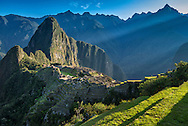 South America; Peru; Urubamba Province; Machu Picchu; UNESCO; World Heritage site
