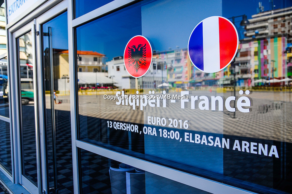 Illustration logo des pays a la billetterie - 12.06.2015 - France / Albanie - Match amical<br /> Photo : Dave Winter / Icon Sport