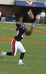 Ottowa Anderson (83)..The Virginia Cavaliers defeated the Western Michigan Broncos 31-19 on September 3, 2005 at Scott Stadium in Charlottesville, VA.