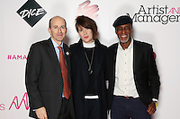 The Artist and Manager Awards 2016 sponsored by Dice,<br /> The Troxy, London,<br /> Thursday, 24, November, 2016,<br /> Photo Credit John Marshall - jmenternational.com