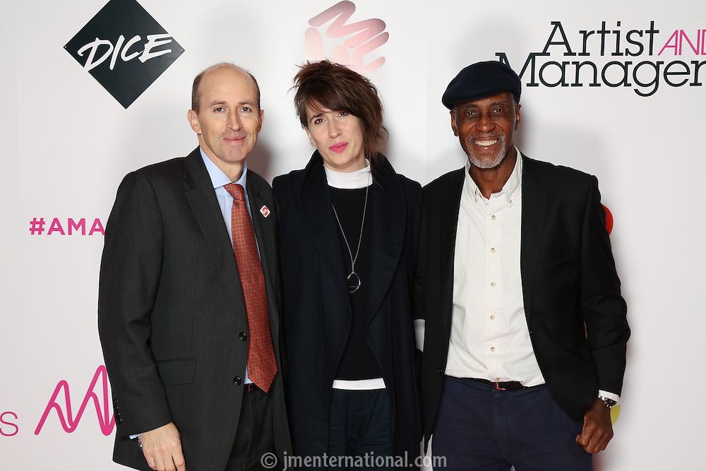 The Artist and Manager Awards 2016 sponsored by Dice,<br /> The Troxy, London,<br /> Thursday, 24, November, 2016,<br /> Photo Credit John Marshall - jmenternational.com