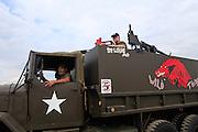 wild thing gun truck vietnam war Kokomo Indiana Vietnam Veterans Reunion 2012