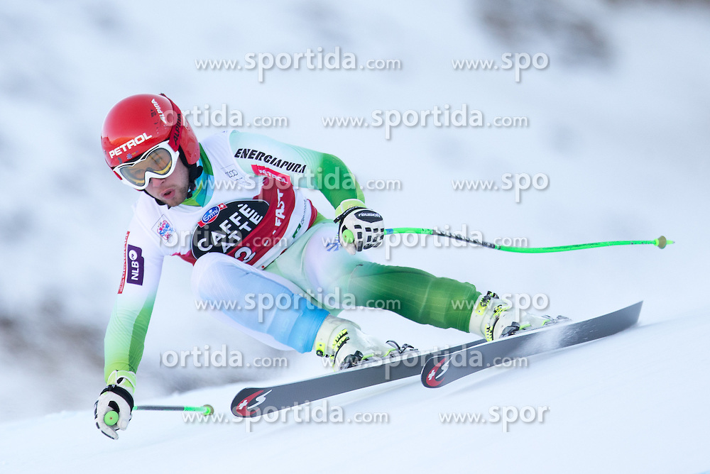 28.12.2015, Deborah Compagnoni Rennstrecke, Santa Caterina, ITA, FIS Ski Weltcup, Santa Caterina, Abfahrt, Herren, 2. Training, im Bild Martin Cater (SLO) // Martin Cater of Slovenia in action during the 2nd practice run of men's Downhill of the Santa Caterina FIS Ski Alpine World Cup at the Deborah Compagnoni Course in Santa Caterina, Italy on 2015/12/28. EXPA Pictures © 2015, PhotoCredit: EXPA/ Johann Groder