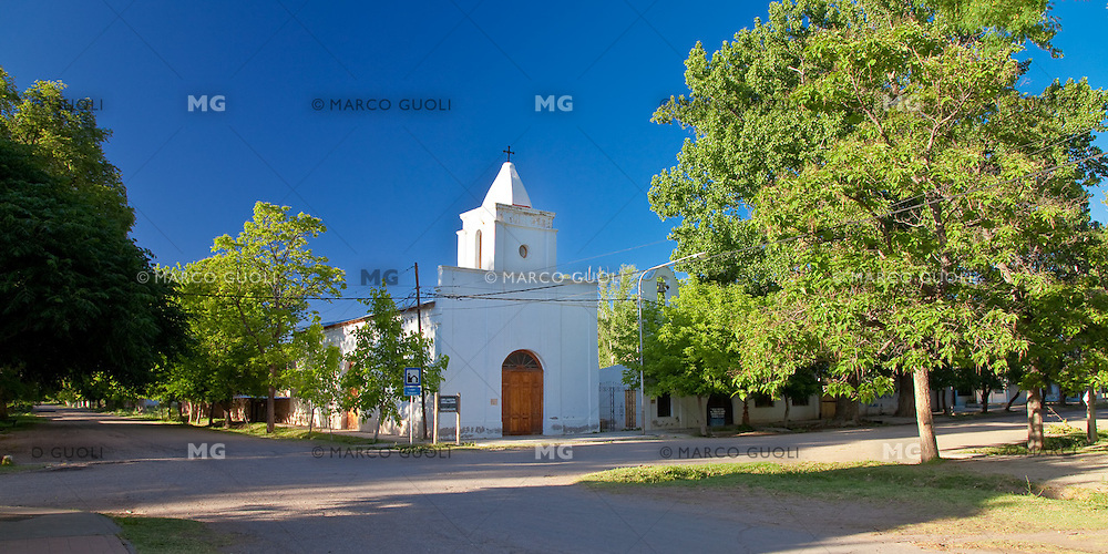 IGLESIA NUESTRA SENORA DEL CARMEN, VILLA 25 DE MAYO, SAN RAFAEL, PROVINCIA DE MENDOZA, ARGENTINA (PHOTO © MARCO GUOLI - ALL RIGHTS RESERVED)