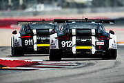 September 17, 2016: IMSA at Circuit of the Americas. #912 Earl Bamber, Frederic Makowiecki, Porsche North America, Porsche 911 RSR GTLM, #911 Patrick Pilet, Nick Tandy, Porsche North America, Porsche 911 RSR GTLM