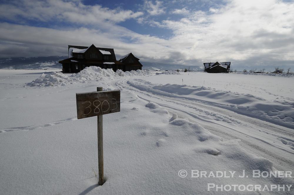 Teton Saddleback Vistas, zombie subdivision in Teton Valley, Idaho