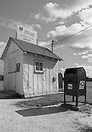 Smallest Post Office in United States, edge of Everglades, Ochopee, Florida