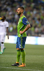 September 27, 2017 - Seattle, WASHINGTON, U.S - The Sounders CLINT DEMPSEY (2) in action as the Vancouver Whitecaps visit the Seattle Sounders for an MLS match at Century Link Field in Seattle, WA. Seattle won the match 3-0. (Credit Image: © Jeff Halstead via ZUMA Wire)