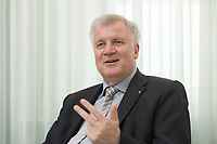 11 MAY 2012, BERLIN/GERMANY:<br /> Horst Seehofer, CSU, Ministerpraesident Bayern, waehrend einem Interview, Landesvertertung Bayern<br /> IMAGE: 20120511-03-017