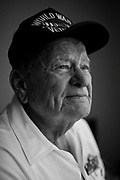 William DeShazer/Staff<br /> Bob Miksa, 88, of Naples, signed up after graduating high school even though he was only 17. He served with the Army&rsquo;s 745th Tank Battalion, 1st Infantry Division.<br /> <br /> Miksa was one of the few tanks to make it to shore at Omaha Beach in France and was instrumental in the D-Day victory.<br /> <br /> Miksa went on to help liberate hundreds of survivors at the Nordhausen concentration camp &mdash; an extermination camp for ill prisoners. He recalls seeing piles of dead bodies as the ovens were still warm when arriving.<br /> <br /> Miksa has a French Legion of Honor &mdash; France&rsquo;s highest award &mdash;and a Purple Heart among other honors.<br /> <br /> &ldquo;We had 80 guys in my outfit killed,&rdquo; Miksa said. &ldquo;It&rsquo;s like losing a brother. You lost one of them and it was like losing your right arm.&rdquo;