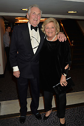 LORD HINDLIP and DAME VIVIEN DUFFIELD at the Gift of Life Gala Ball celebrating the Russian Old new Year's Eve in aid of the Gift of Life foundation held at The Savoy, London on 13th January 2015.