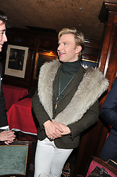 HENRY CONWAY at a party to celebrate the publication of Tatler Magazine's Little Black Book 2012 held at Annabel's, Berkeley Square, London on 7th November 2012.