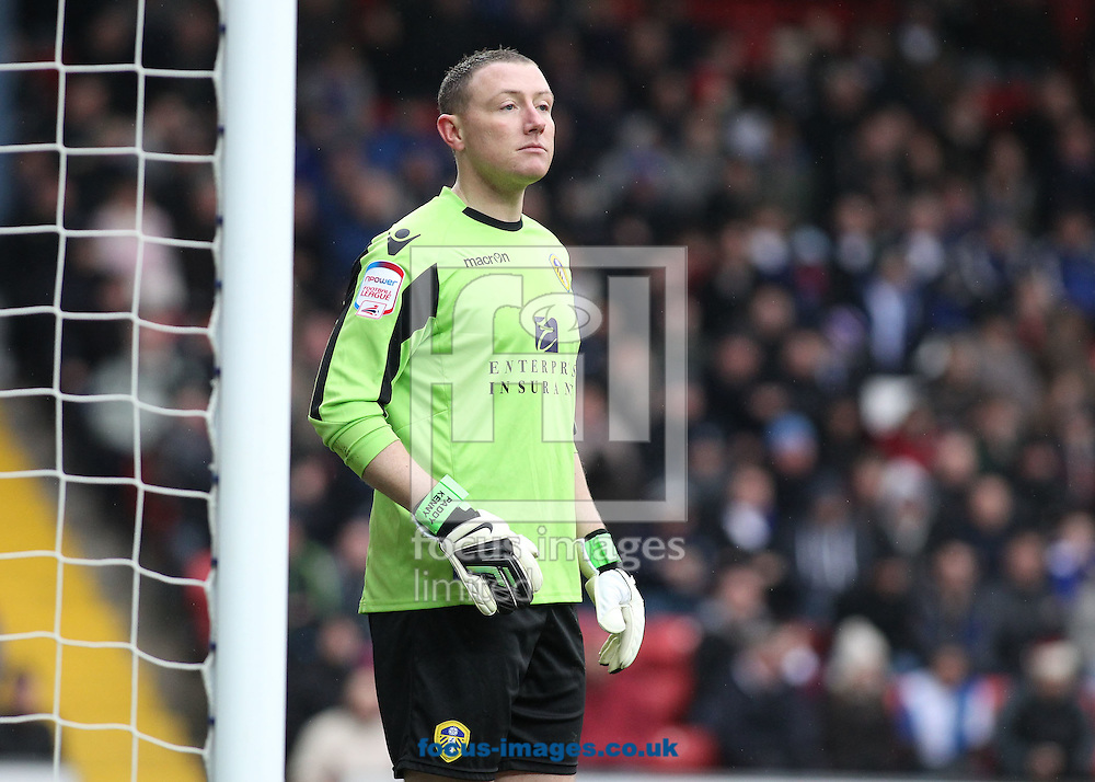 Picture by Michael Sedgwick/Focus Images Ltd +44 7900 363072.23/02/2013.Paddy Kenny of Leeds United during the match against Blackburn Rovers in the npower Championship match at Ewood Park, Blackburn.